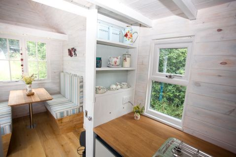 Heart wood tiny homes New Forest log cabin