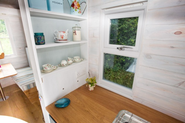 Heartwood tiny homes, luxury glamping, Shepherds Hut rental, Sopley in the New Forest